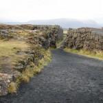 Þingvellir.Spalten mellem Europa og Amerika